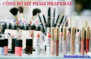Cong bo my pham nhap khau uy tin tai Viet Nam