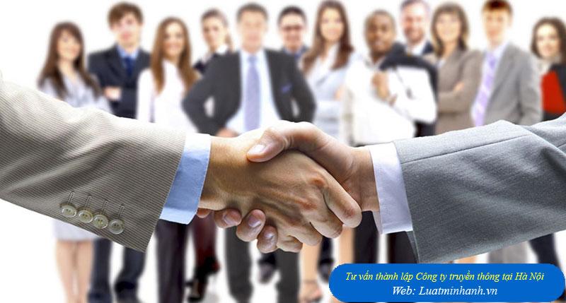 Tư vấn thành lập Công ty truyền thông tại Hà Nội
