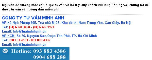 Tư vấn soạn thảo hợp đồng, Luật Minh Anh