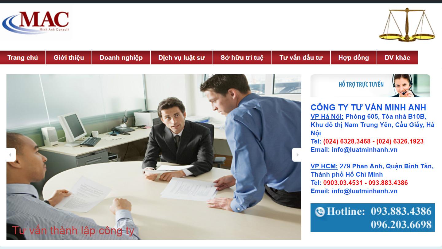Công ty Luật đại diện tư vấn doanh nghiệp,  hợp đồng, xin giấy phép, nhãn hiệu uy tín