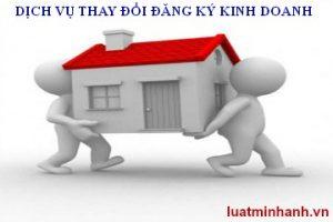 Dich vu thay doi dang ky kinh doanh re nhat Ha Noi