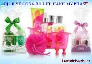 Dịch vụ công bố lưu hành mỹ phẩm tại Việt Nam
