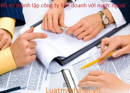 Hồ sơ thành lập công ty liên doanh với nước ngoài tại TP.Hồ Chí Minh