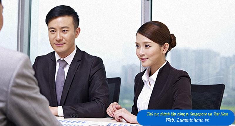 Thủ tục thành lập công ty Singapore tại Việt Nam